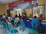 Waka Polres Ngawi Lakukan Pengecekan Penyerahan Bantuan Tunai 421 Pedagang Kali Lima Dan Warung