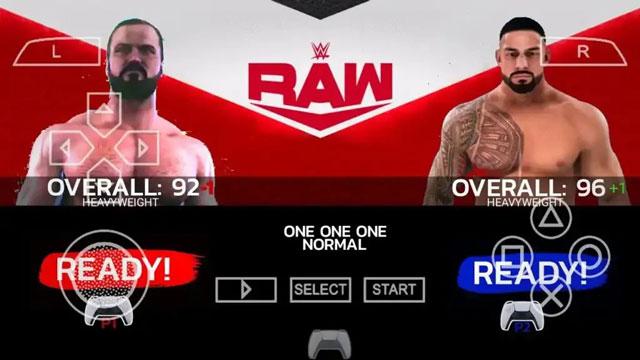 لعبة WWE 2K22 لمحاكي PPSSPP من ميديا فاير