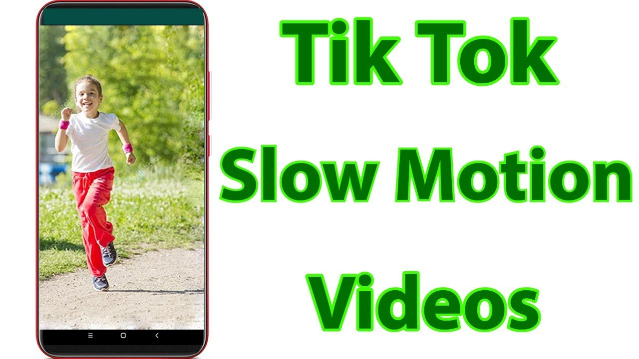 Tips Cara Buat Slow Fast Motion video Tiktok