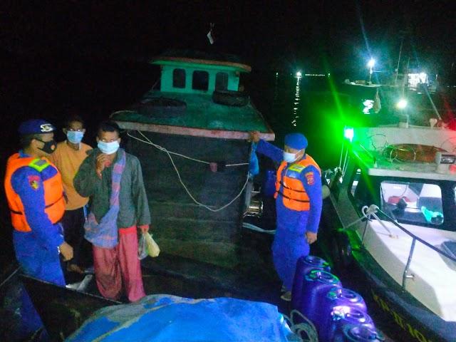Patroli Perairan Sat Polair Polres Tanjung Balai Diwilayah Hukum Polres Tanjung Balai.