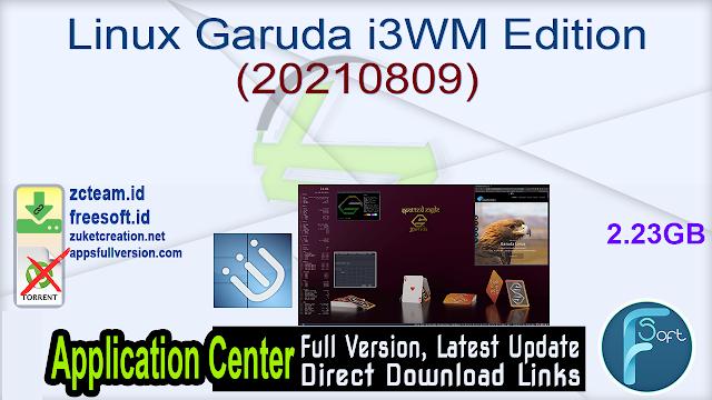 Linux Garuda i3WM Edition (20210809)