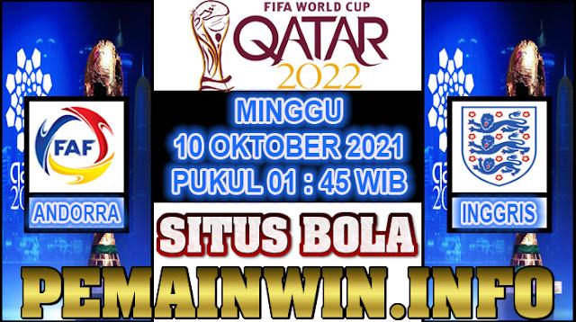 Prediksi Kualifikasi Piala Dunia 2022 Antara Andorra Vs Inggris
