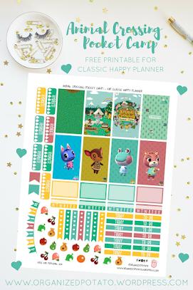 Free Animal Crossing Planner Printables