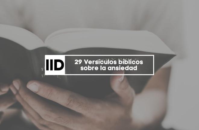 Versículos bíblicos sobre la ansiedad
