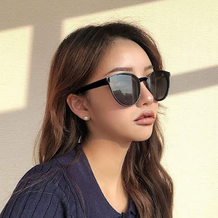 Simple Oversized Cat Eye Sunglasses For Women