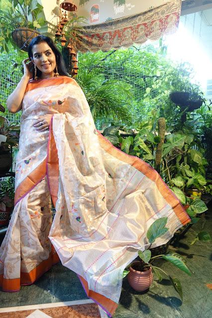 Kota Doria Saree - Diwali Range