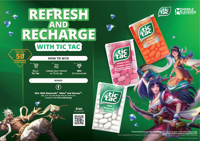 TIC TAC MALAYSIA x MOBILE LEGENDS AWESOME!