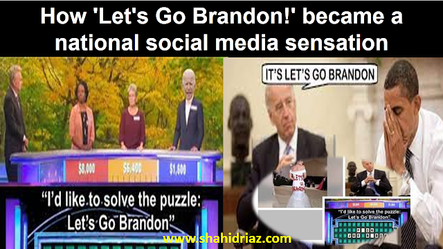 How 'Let's Go Brandon!' became a national social media sensation