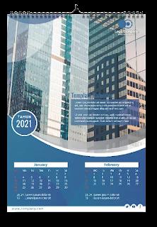 Free Kalender CDR : Download Template Kalender 2021/2022 CDR Gratis