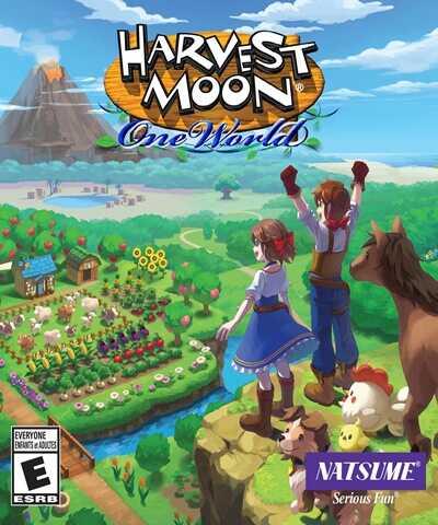 โหลดเกมส์ [Pc] Harvest Moon: One World   เกมส์ฮาร์เวสต์มูน ปลูกผัก ทำฟาร์ม