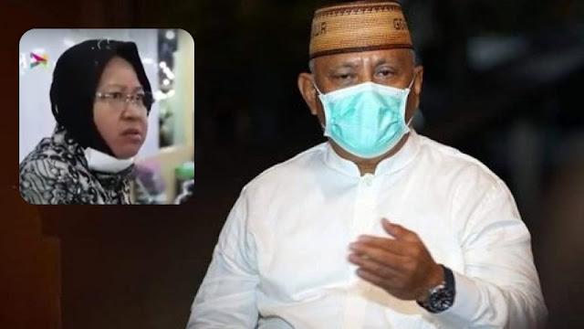 Gubernur Gorontalo Minta Presiden Jokowi Evaluasi Risma karena Sering Ngamuk