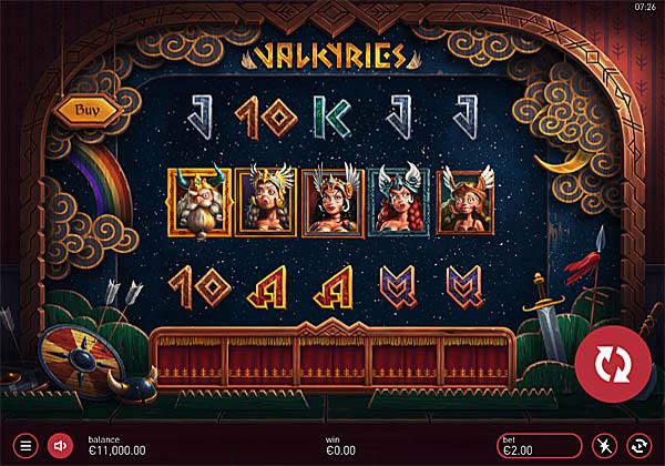 Main Gratis Slot Indonesia - Valkyries Yggdrasil