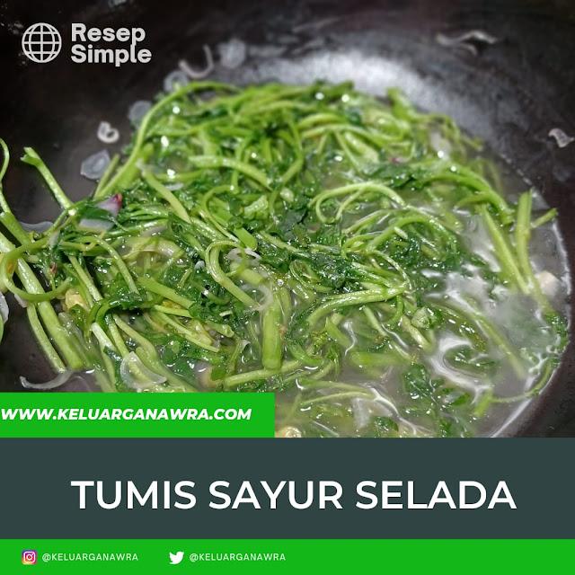 resep tumis sayur selada
