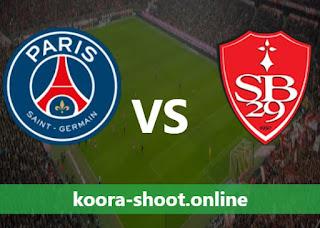 مشاهدة مباراة باريس سان جيرمان و بريست بث مباشر كورة اون لاين بتاريخ 20/08/2021 الدوري الفرنسي