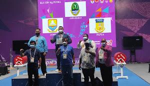 Reza Atlet Asal Tebo Sumbangkan Perak Untuk Jambi di PON ke XX Papua