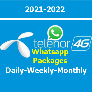 Telenor WhatsApp Packages