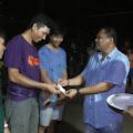 Ibrahim Daru Memberikan Bantuan Pada Puncak Acara Pesta Rakyat