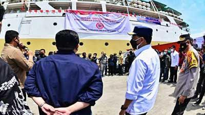 Sudah Tujuh Pemda Manfaatkan Isoter di Kapal
