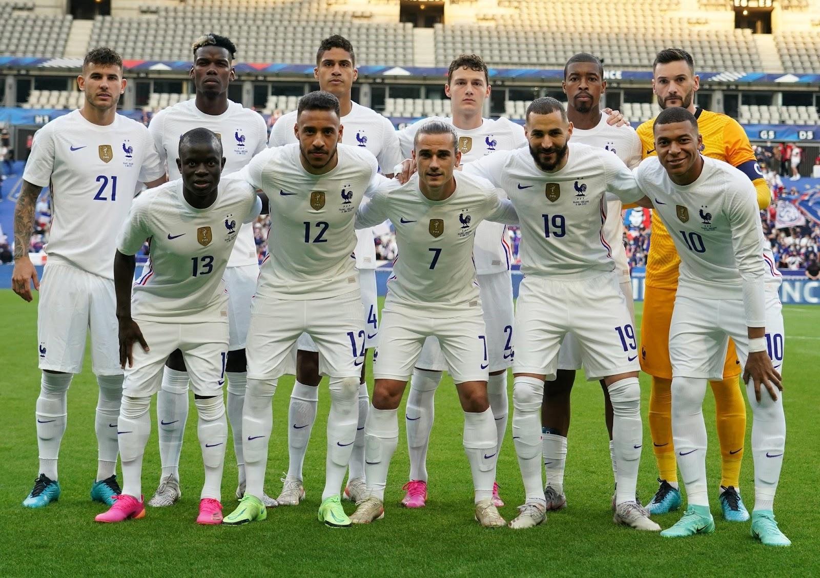 تشكيلة فرنسا المتوقعة ضد اسبانيا في نهائي دوري الامم الأوروبية
