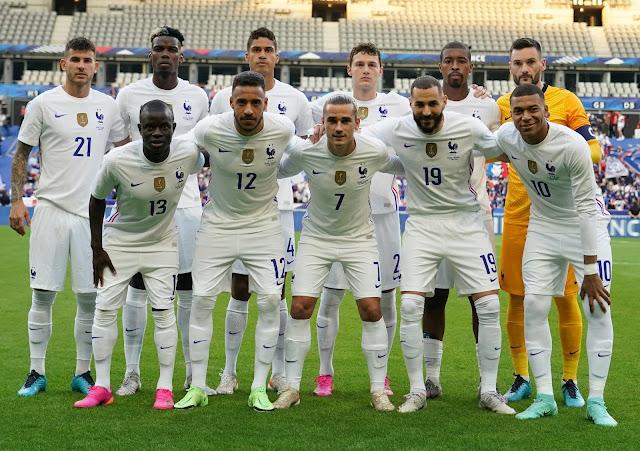 تشكيلة فرنسا المتوقعة ضد اسبانيا