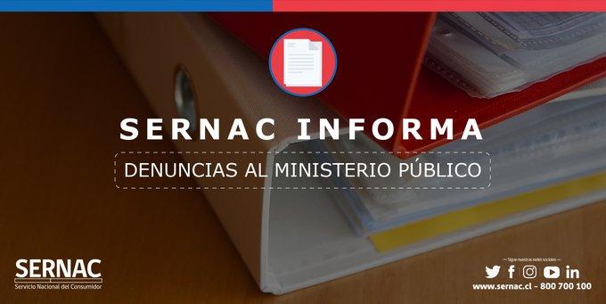 SERNAC denuncia al ministerio público a 45 tiendas virtuales por eventual fraude