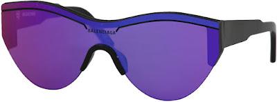 Half Frame Authentic Balenciaga Sunglasses