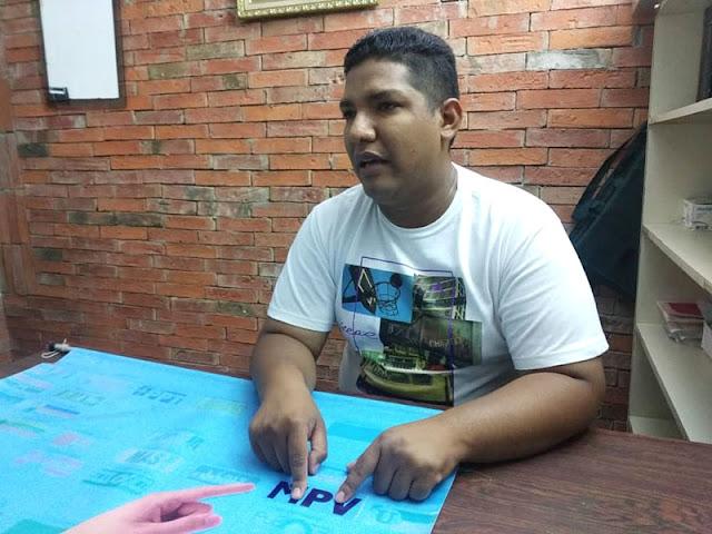 CHEITO RAMOS QUIERO SER LA VOZ DE LAS COMUNIDADES