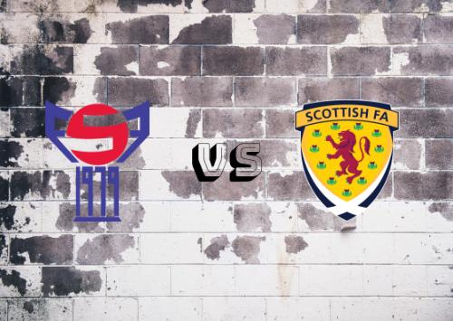 Islas Faroe vs Escocia  Resumen