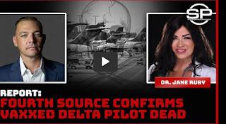 vaccinated pilot dies