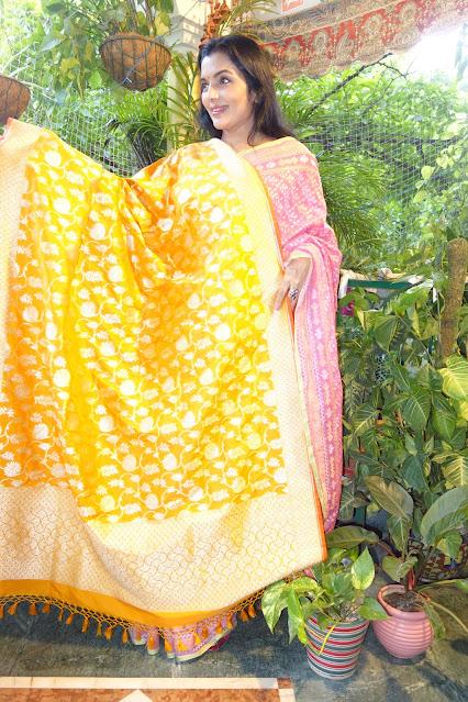 Banarasi Katan silk dupatta