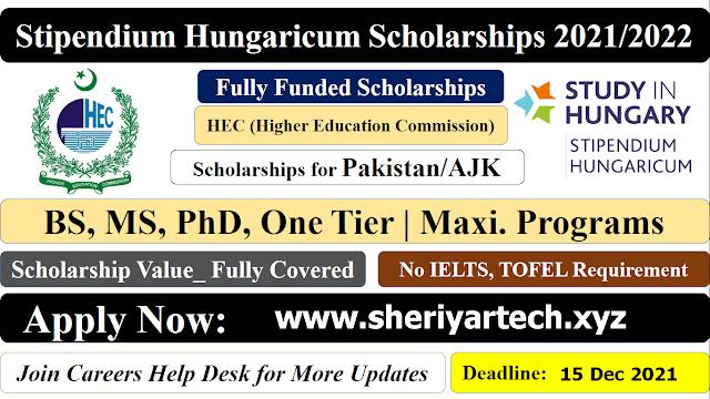 Hungary Scholarships for Pakistani Students