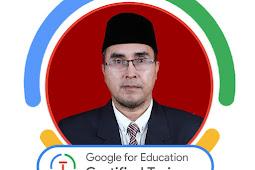 SMKN 1 XIII Koto Kampar Meraih Prestasi Internasional, Kepala Sekolahnya Lulus Google Certified Trainer (GCT)
