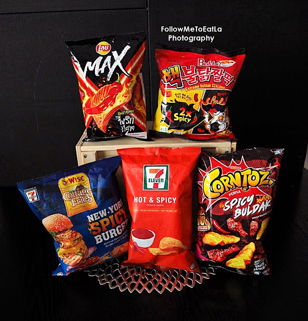 Too Hot to Handle: 8 Spicy Potato Chips at 7-Eleven Sure to Make You Sweat
