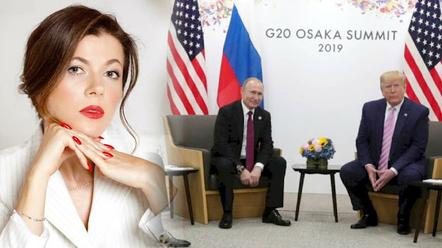 Kecerdikan Vladimir Putin, Gunakan Wanita Cantik Sebagai Penerjemah saat Bertemu Trump