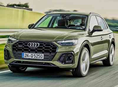 """The """"Made in India"""" Audi Q5 is being manufactured in India, and the SUV will be launched soon..."""