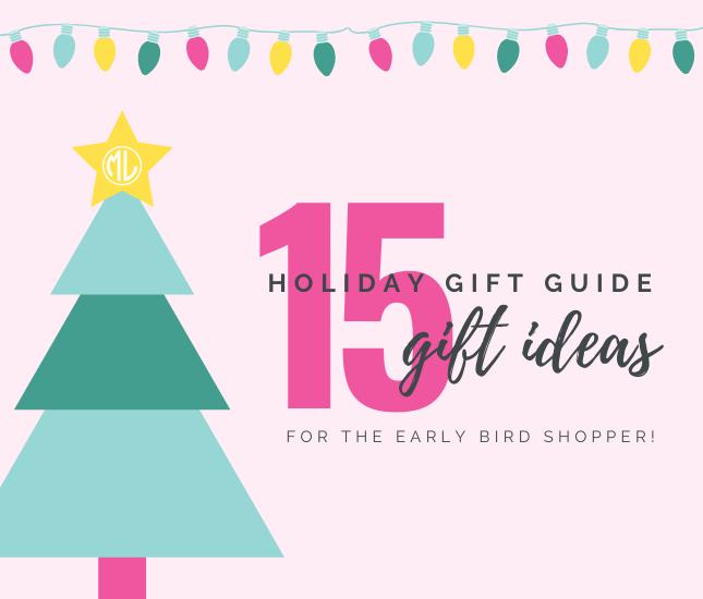15 Gift Ideas for the Early Bird Shopper