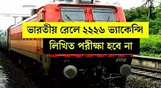 Indian Railway Notification 2021