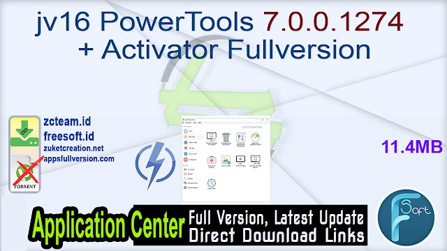 jv16 PowerTools 7.0.0.1274 + Activator Fullversion