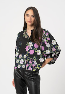 Ichi - Дамска десенирана Риза с 3/4 ръкави