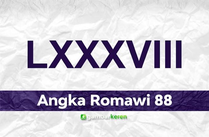 Angka Romawi 88