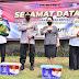 Terdampak PPKM, Polda Banten Salurkan 1000 Paket Sembako Kepada Buruh dan Masyarakat di Tangerang