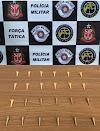 FORÇA TÁTICA APREENDE ADOLECENTE COM 24 PINOS DE COCÍNA EM ARAÇATUBA