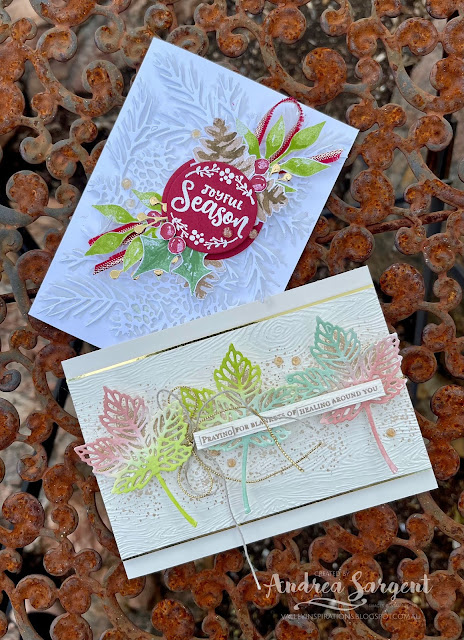 Share with those you care about by giving a special card, designed by Andrea Sargent, Australia.