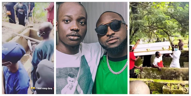 Moment Davido Photographer, Fortune Laid to rest (Video)