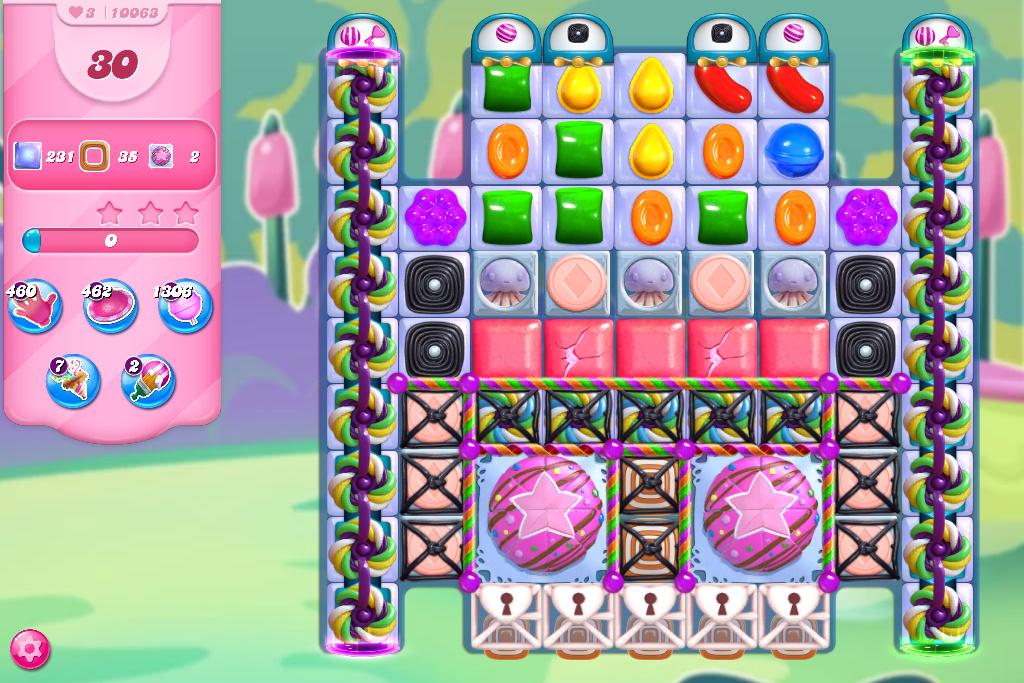 Candy Crush Saga level 10063