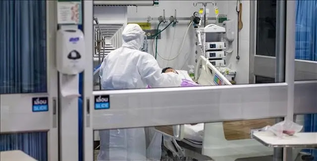 Treating patients infected with COVID-19 in Bangkok, Thailand. Photo: AFP