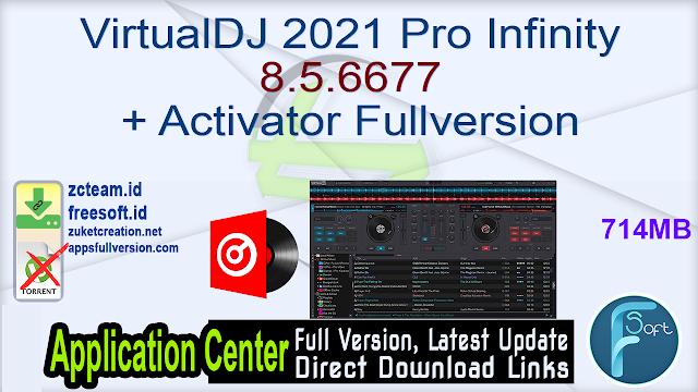 VirtualDJ 2021 Pro Infinity 8.5.6677 + Activator Fullversion