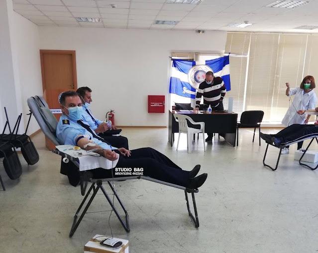 Με μεγάλη συμμετοχή η 13η εθελοντική αιμοδοσία της Διεθνούς Ένωσης Αστυνομικών Αργολίδας