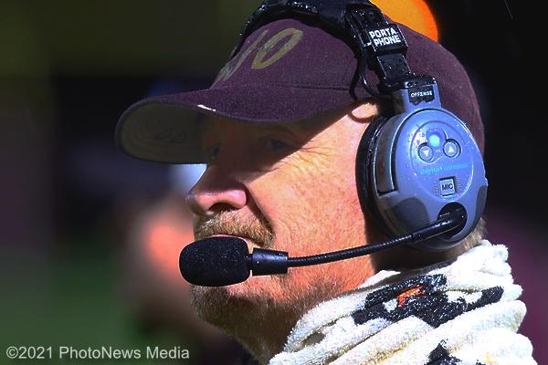Bob Glazier keeps a watchful eye