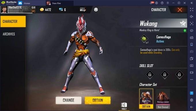 Free Fire में Wukong Character को Unlock कैसे करें